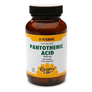 Benefits of pantothenic acid